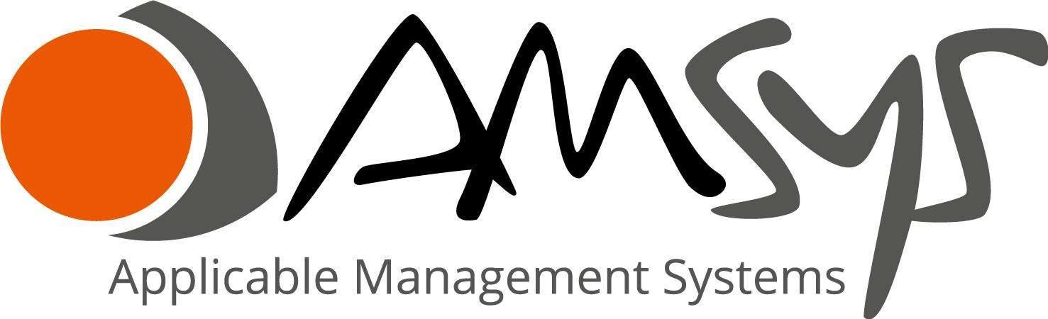 Neue Adresse AMSYS Logo